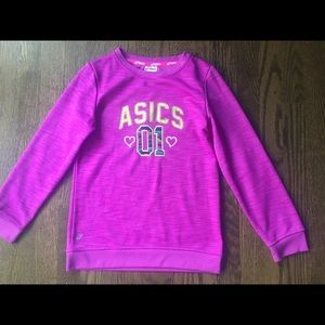 ASICS Girls Sweater - size M (10)